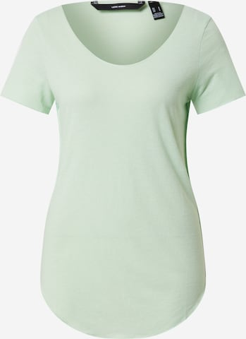 VERO MODA Shirt 'LUA' in Green