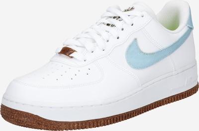 Nike Sportswear Låg sneaker 'AIR FORCE 1' i ljusblå / vit, Produktvy