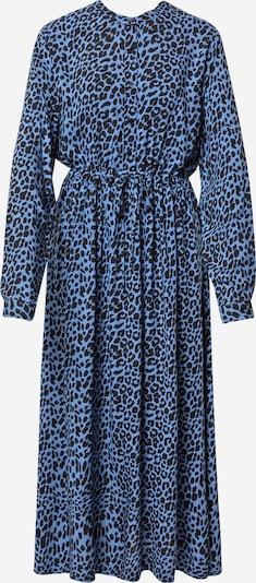Moves Košulja haljina 'Tanisa' u sivkasto plava / crna: Prednji pogled