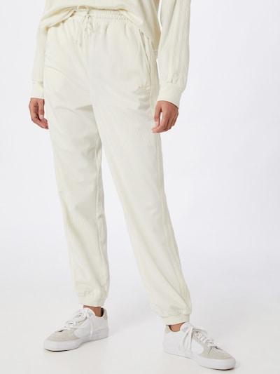 ADIDAS ORIGINALS Pantalon en blanc, Vue avec modèle