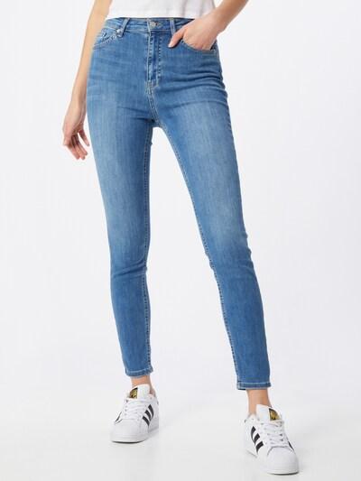 NA-KD Jeansy w kolorze niebieski denimm, Podgląd na modelu(-ce)