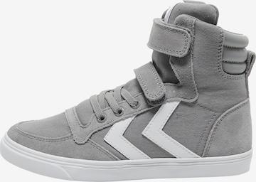 Hummel Sneaker High in Grau