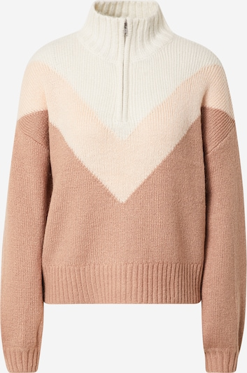 FRENCH CONNECTION Sweater 'NATALYA' in Brown / Pink / White, Item view
