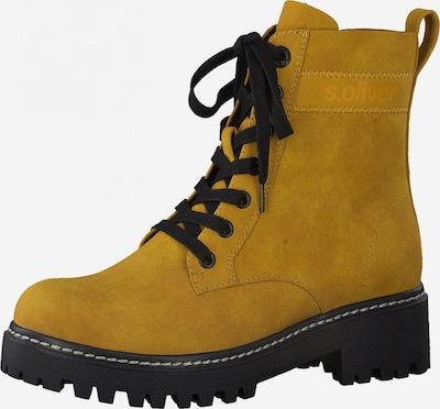 s.Oliver Stiefelette in gelb, Produktansicht