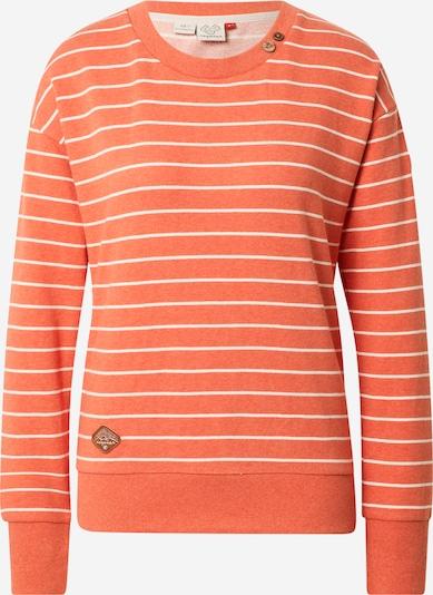 Ragwear Sweatshirt 'MAIKEN' in karamell / dunkelorange / weiß, Produktansicht