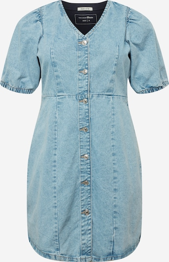 PIECES Curve Robe-chemise 'GILI' en bleu, Vue avec produit
