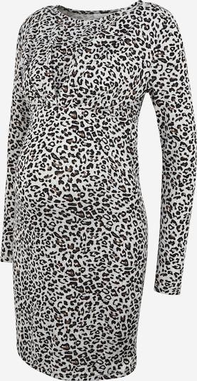 MAMALICIOUS Kleid in braun / hellgrau / schwarz, Produktansicht