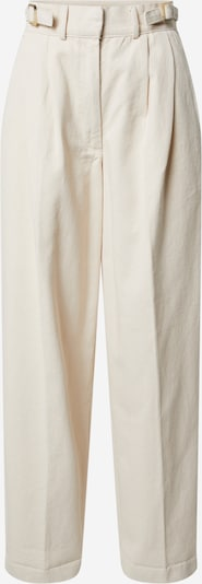 EDITED Jeans med lægfolder 'Chiara' i beige, Produktvisning