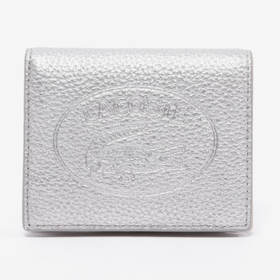 LACOSTE Small Leather Goods in One size in Silver, Item view