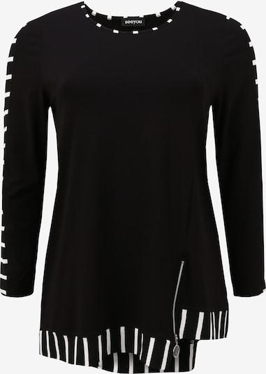 seeyou Shirt in de kleur Zwart, Productweergave