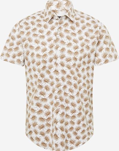 Camicia 'Rash' BOSS Casual di colore beige / écru / beige scuro / bianco, Visualizzazione prodotti