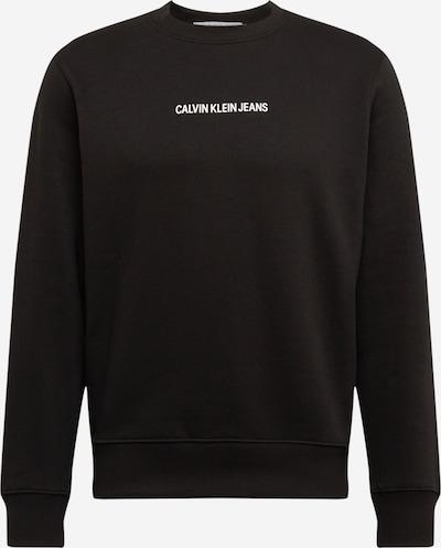Calvin Klein Jeans Bluzka sportowa w kolorze czarnym: Widok z przodu