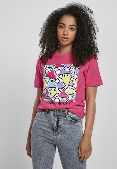 Merchcode T-shirt en mélange de couleurs / rose: Vue de face