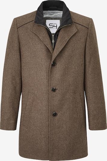 S4 Jackets Wollmantel in braun, Produktansicht