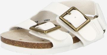 Sandale de la GAP pe alb