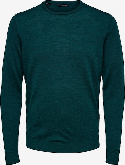 SELECTED HOMME Pullover in petrol, Produktansicht