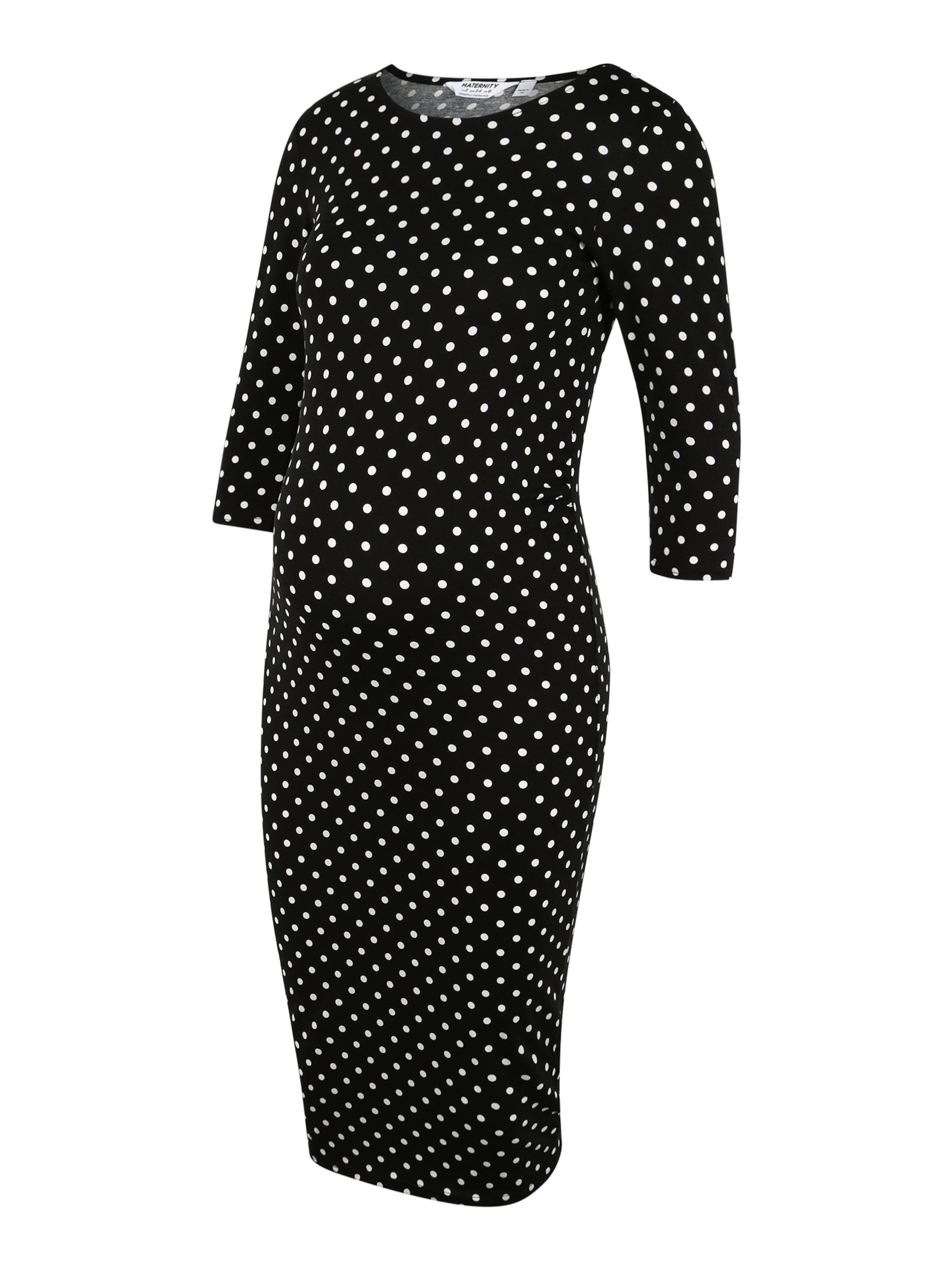 Dorothy Perkins Maternity Klänning i svart / vit