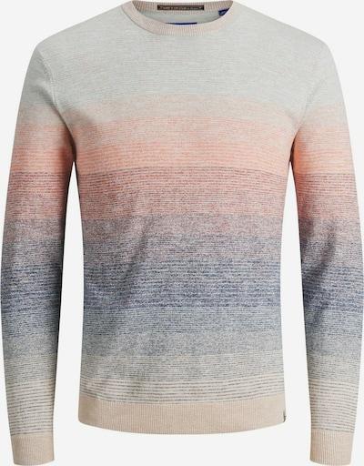 JACK & JONES Pullover 'LAGUNA' in creme / mischfarben, Produktansicht