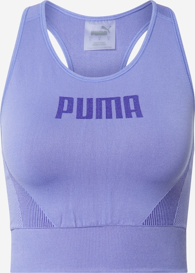 PUMA Sports bra in Light purple / Dark purple, Item view