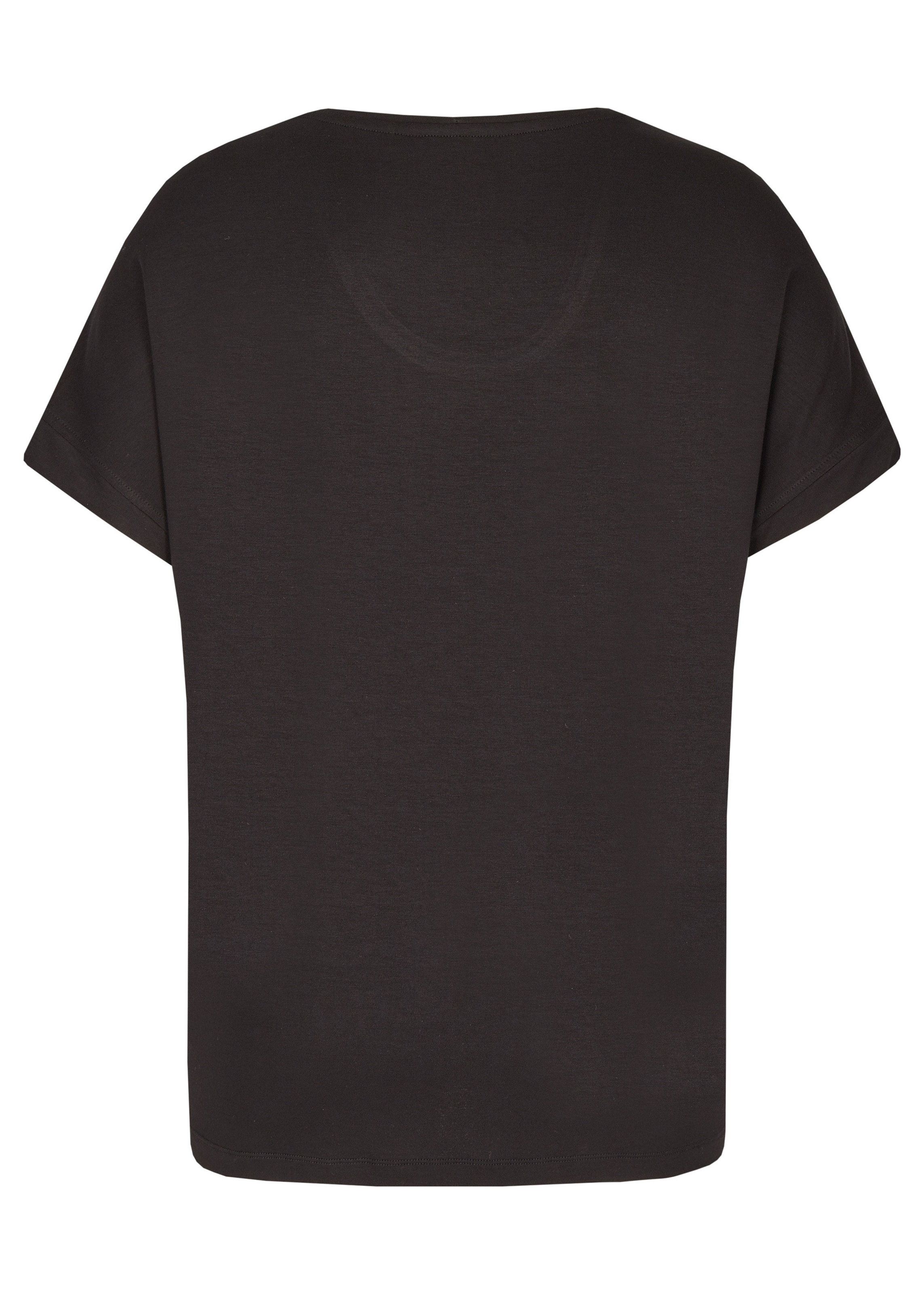 FRAPP Bluse in rot / schwarz / weiß