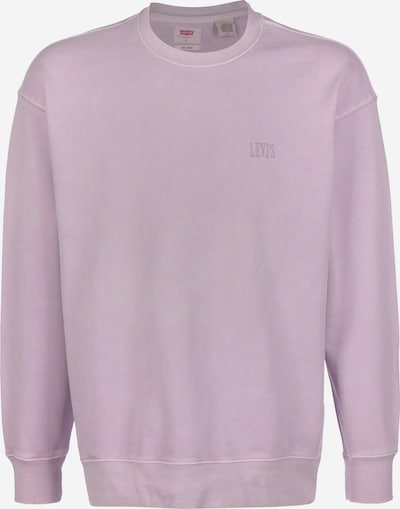 LEVI'S Sweater ' Authentic Logo Crewneck ' in flieder: Frontalansicht