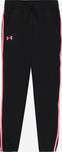 UNDER ARMOUR Спортен панталон 'Rival' в розово / черно, Преглед на продукта