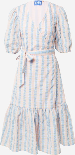 Crās Kleid in hellblau / gelb / puder / weiß, Produktansicht