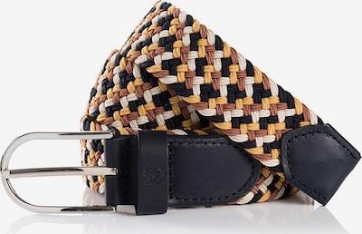 TOM TAILOR Cinturón en beige / marrón claro / negro / blanco, Vista del producto