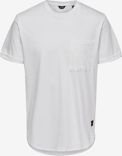 Only & Sons Μπλουζάκι 'GAVIN' σε λευκό, Άποψη προϊόντος
