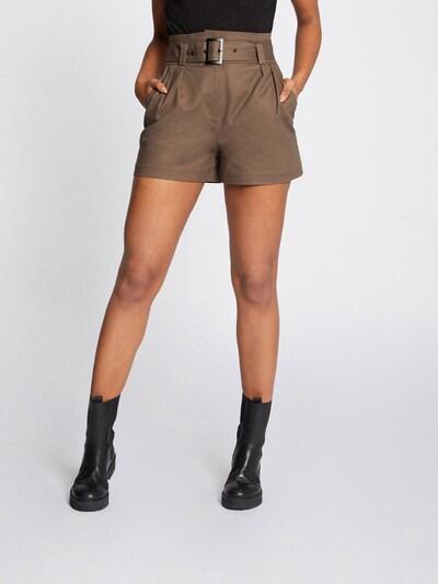 Morgan Kalhoty se sklady v pase '211-SHOMY' - khaki, Model/ka