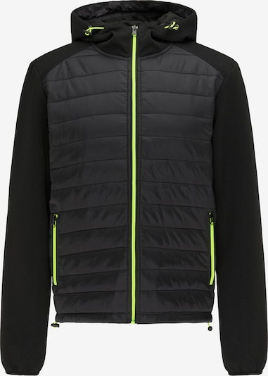 Mo SPORTS Sportjas in de kleur Neongroen / Zwart, Productweergave