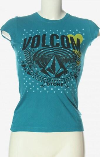 Volcom T-Shirt in XS in blau / schwarz, Produktansicht