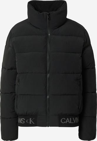 juoda Calvin Klein Jeans Žieminė striukė