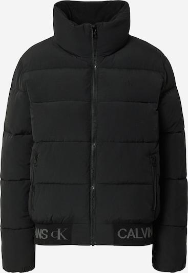 Calvin Klein Jeans Chaqueta de invierno en negro, Vista del producto