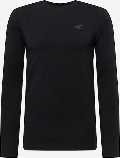 4F Sportshirt in grau / schwarz, Produktansicht