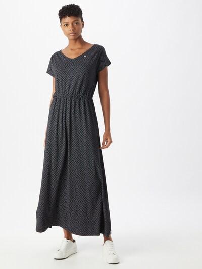 Ragwear Kleid 'DWYN' in schwarz / weiß, Modelansicht