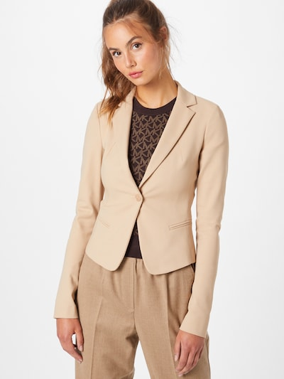 PATRIZIA PEPE Blazer in beige, Modelansicht