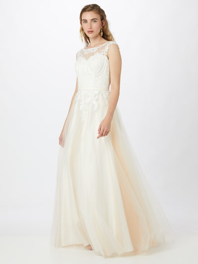 testszínű / piszkosfehér MAGIC BRIDE Estélyi ruhák, Modell nézet