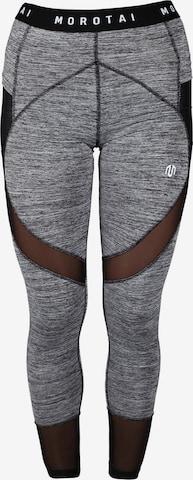 MOROTAI Spodnie sportowe w kolorze szary