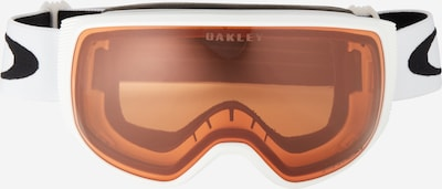 OAKLEY Sporta brilles 'Flight Tracker' tumši oranžs / balts, Preces skats