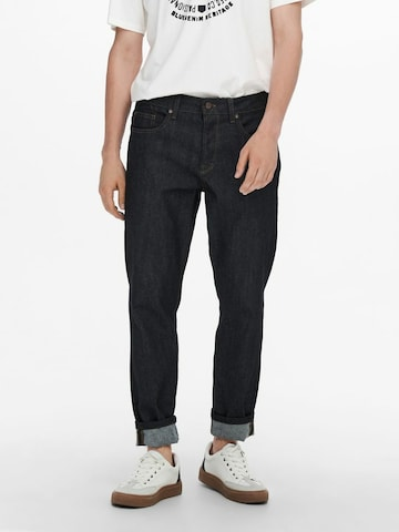 Only & Sons Hose in Blau