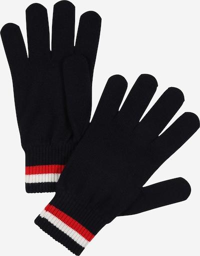 TOMMY HILFIGER Rękawiczki pięciopalczaste 'CORPORATE' w kolorze niebieski / czerwony / białym, Podgląd produktu