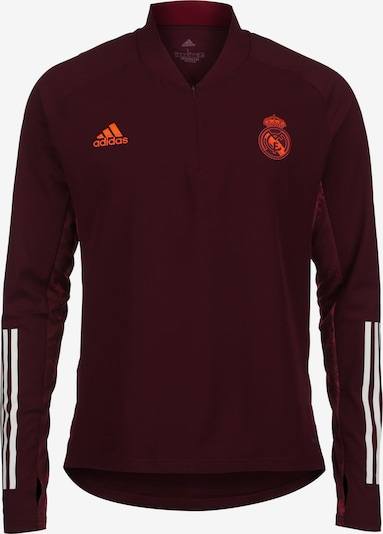 ADIDAS PERFORMANCE Trikot 'Real Madrid' in dunkelorange / weinrot / weiß, Produktansicht