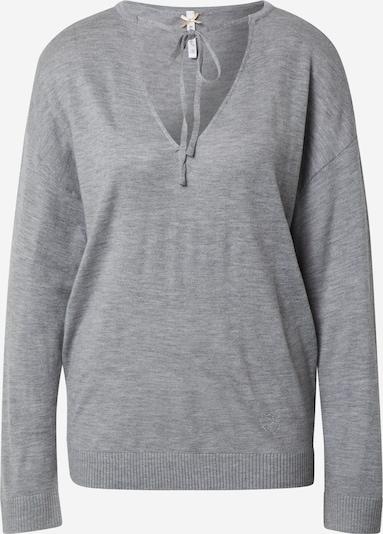 Key Largo Pullover in graumeliert, Produktansicht