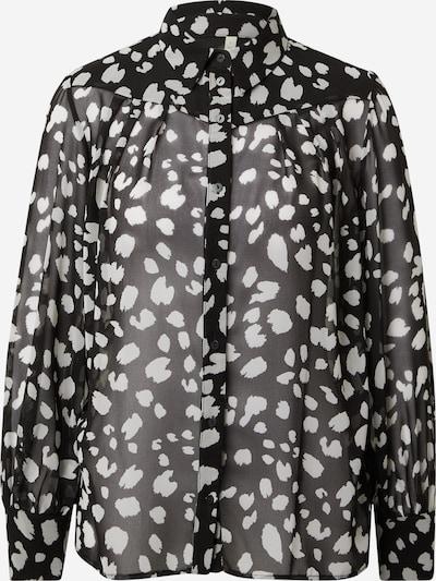 IMPERIAL Bluse in schwarz / weiß, Produktansicht