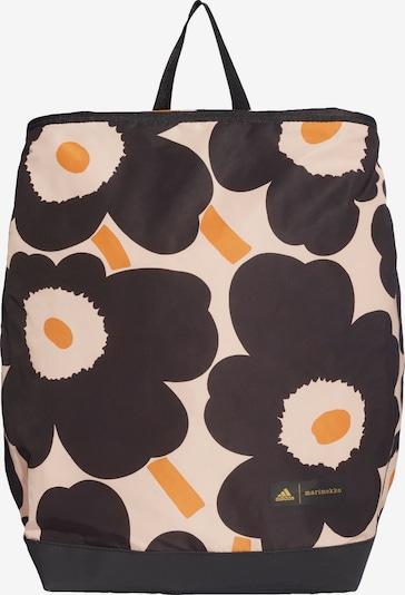 ADIDAS PERFORMANCE Rucksack 'Marimekko Unikko' in orange / rosa / schwarz, Produktansicht