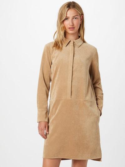 OPUS Kleid 'Wusia' in dunkelbeige, Modelansicht
