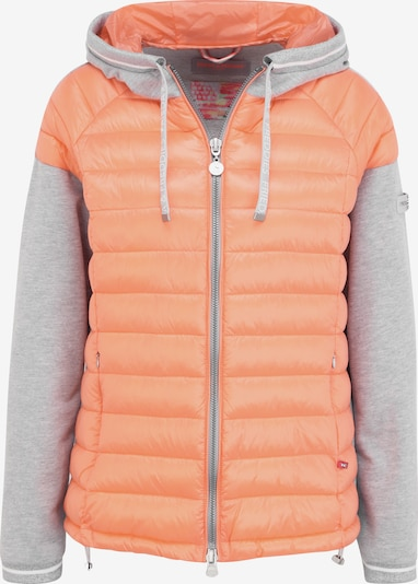 Frieda & Freddies Jacke in grau / orange / koralle, Produktansicht