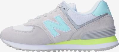 Sneaker low new balance pe gri / gri deschis / verde mentă, Vizualizare produs