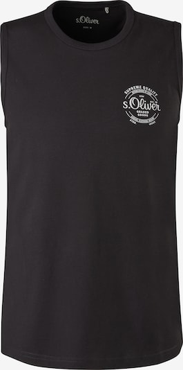 s.Oliver Shirt in de kleur Zwart / Wit, Productweergave